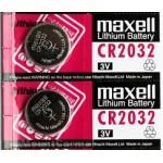 Bateriji maxell CR2032 2 kosa