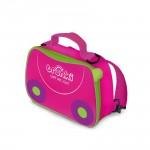Trunki torbica za malico rožnata
