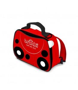 Trunki torbica za malico rdeča