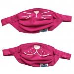 Trunki otroška maska rožnata-komplet dveh