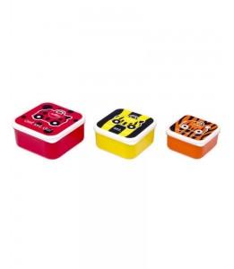 Trunki posodice za malico rdeča / oranžna / rumena
