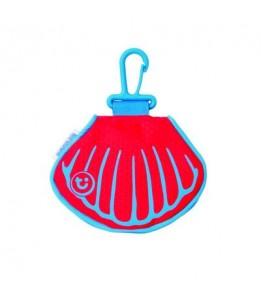 Trunki denarnica PaddlePak Clam Purse rdeča