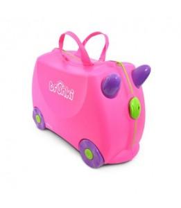 Trunki kovček Trixie rožnat