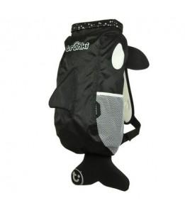Trunki vodoodporni nahrbtnik orka črn L