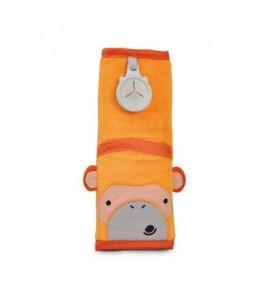 Trunki podloga za pas Seatbeltpad oranžna